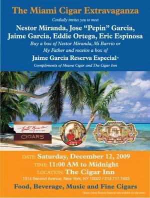 Miami Cigar Extravaganza at Cigar Inn