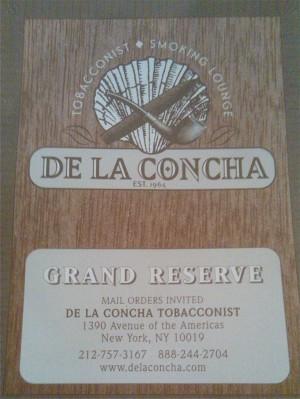De La Concha Grand Reserve