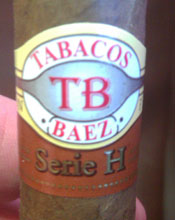 Cigar Review: Tobacos Baez Serie H