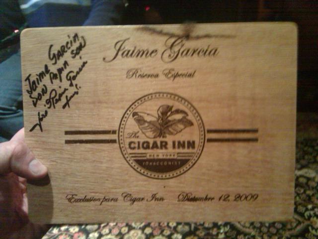 Cigar Review: Jaime Garcia Reserva Especial