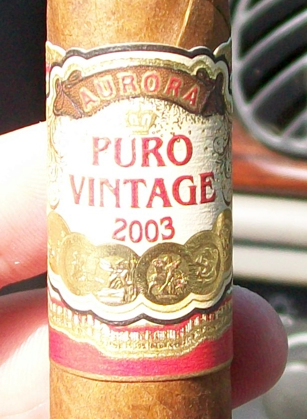 Cigar Review: Aurora Puro Vintage 2003