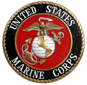Marines Corp Seal Plaque 1