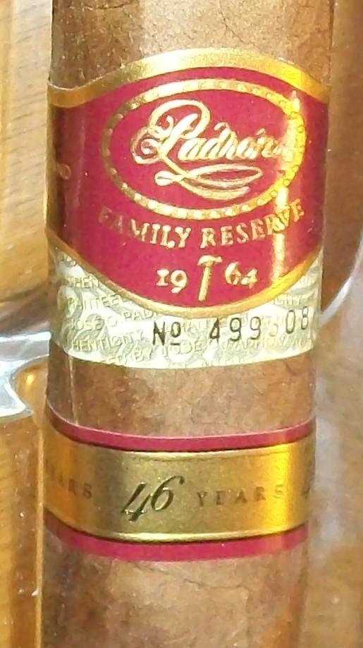 Cigar Review: Padron 46 Years Natural