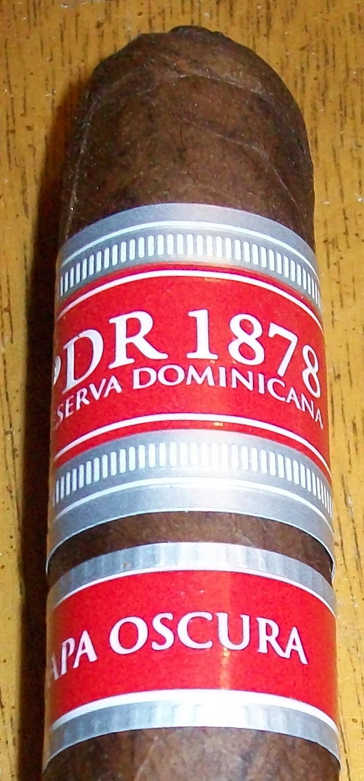Cigar Review: PDR 1878 Reserva Dominicana Capa Oscura