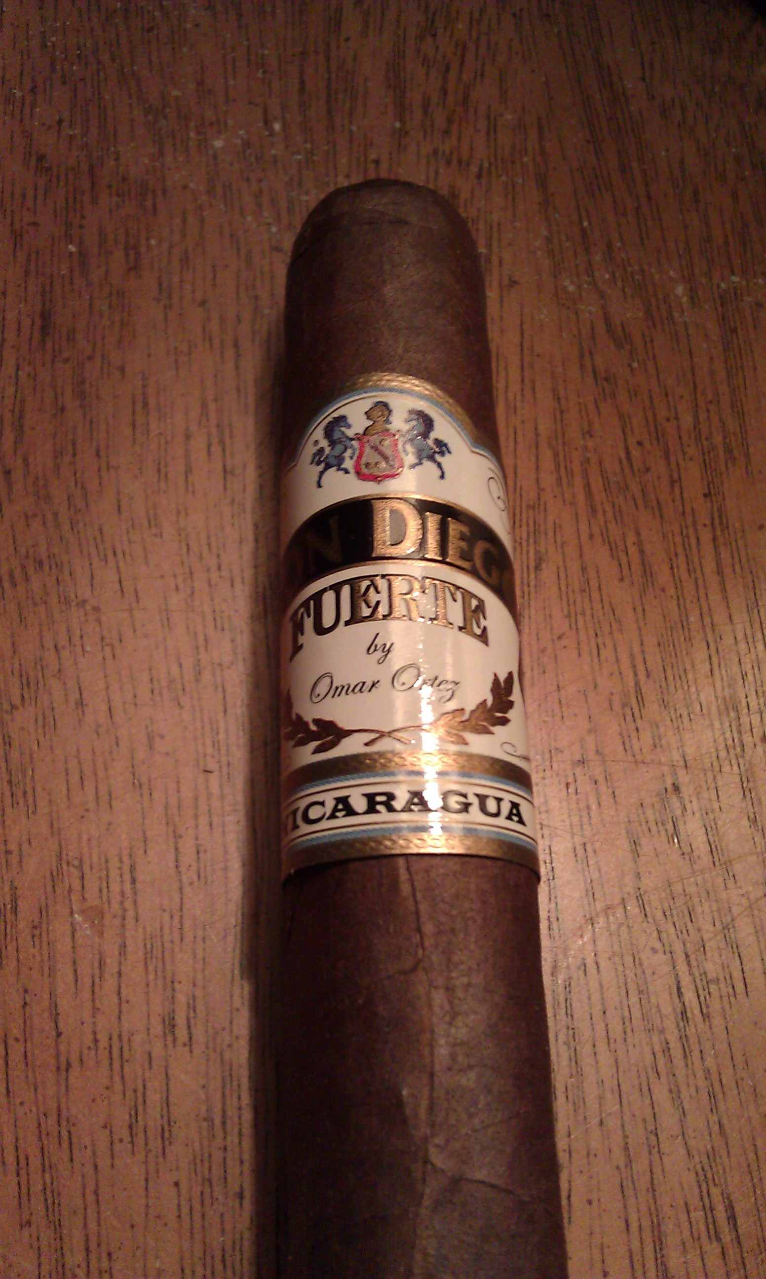 Don Diego Fuerte – Cigar Review