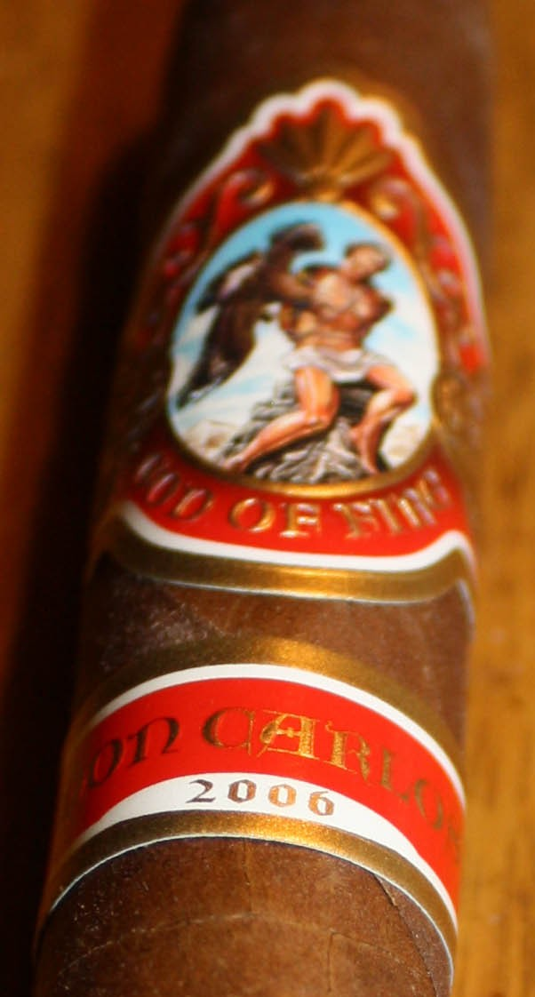 God of Fire 2006 by Don Carlos – Cigar Review