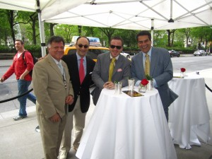George Bill Sherman, Michael Herklots, Pat Felitti
