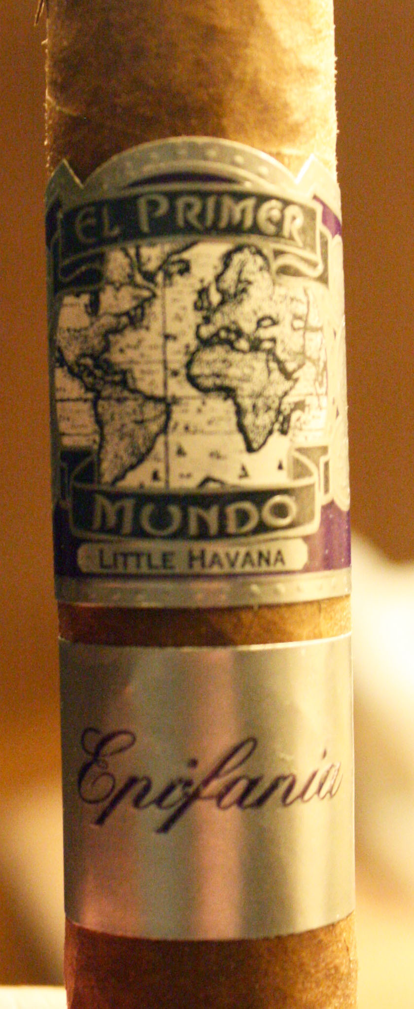 El Primer Mundo Epifania – Cigar Review