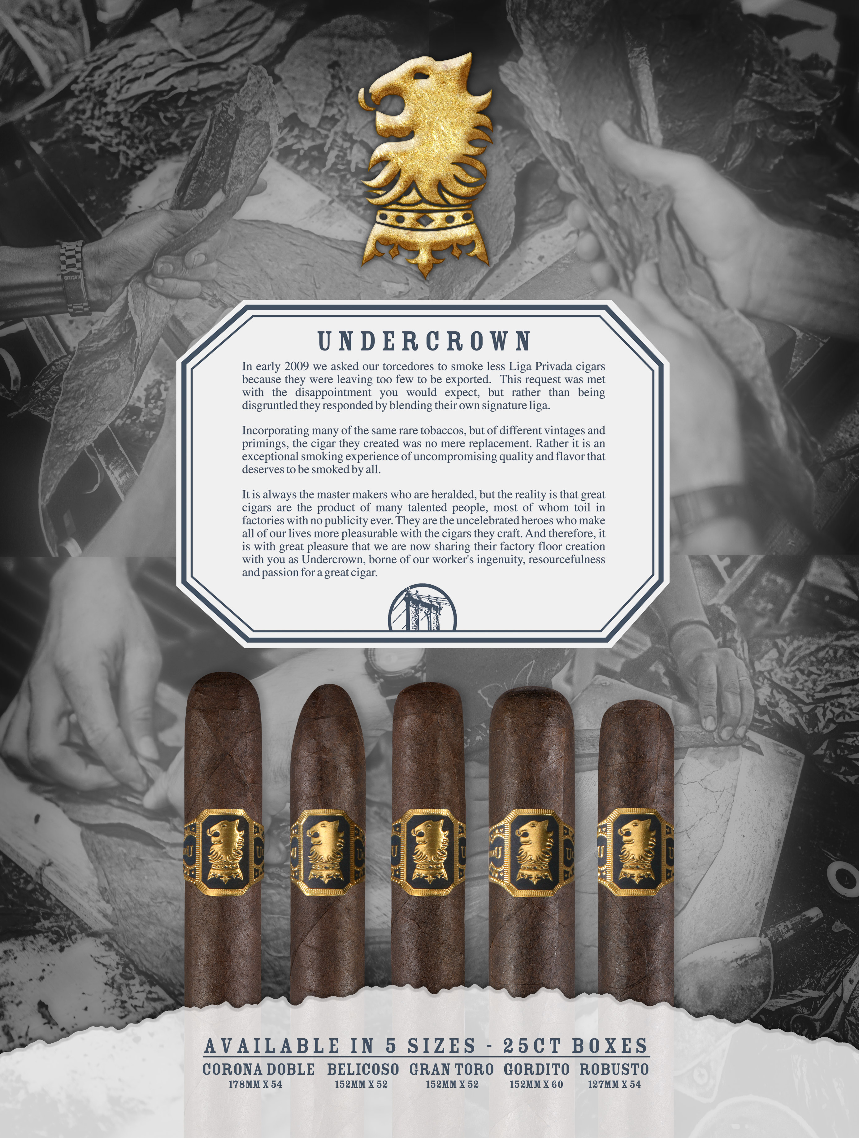 Drew Estate Undercrown – Specs