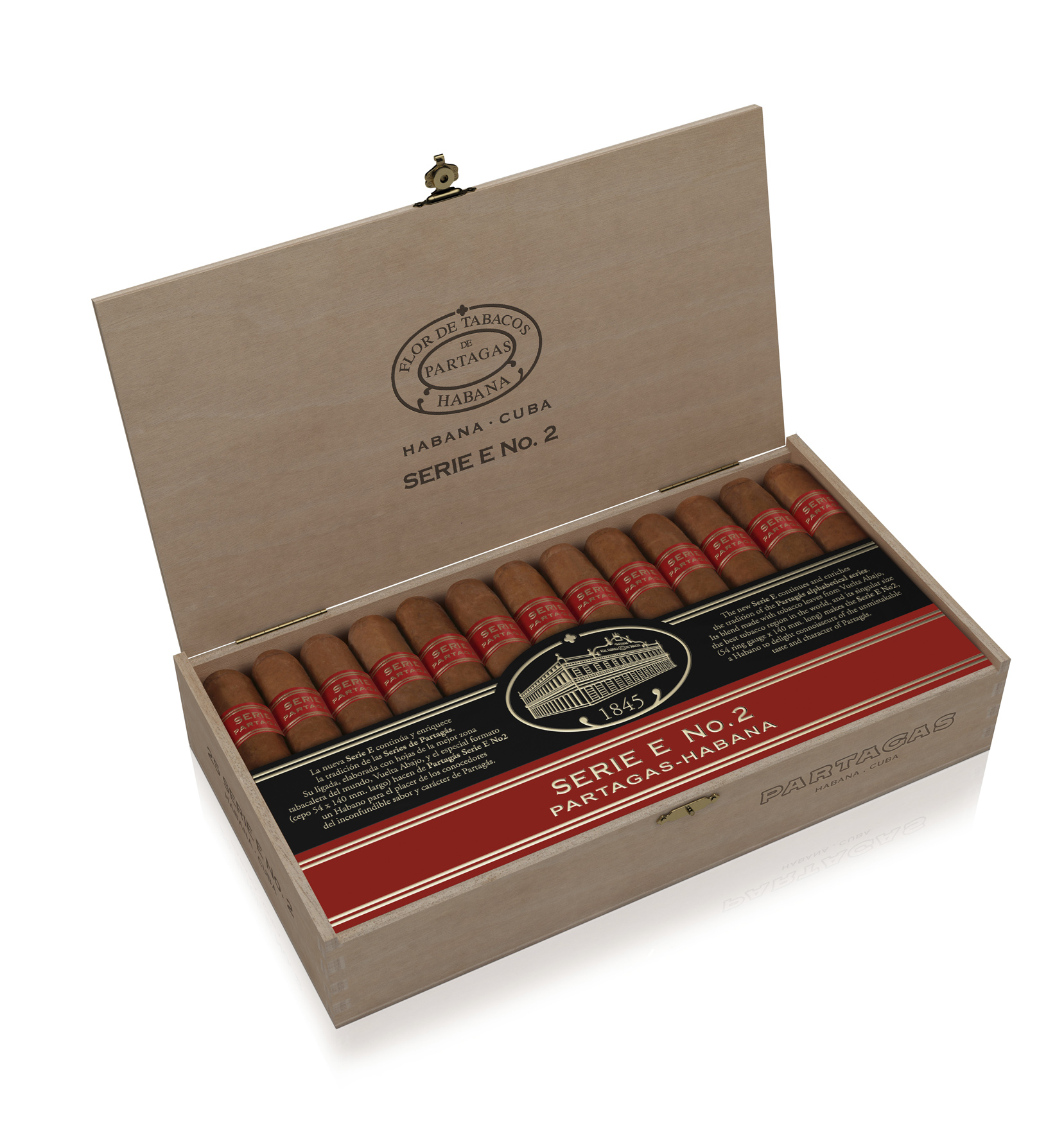 Cigar News: Habanos S.A has a new Partagas Vitola