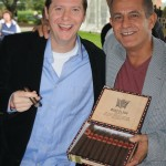Rocky Patel Rep (name escapes me) and Eddie Ortega