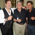 Michael from La Gloria, Benji from Partagas and Rick from CAO