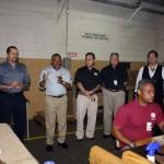 Yuri, Jhonny, Edmundo, Benji, and Michael explain the task at hand