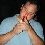 Patrick from StogieGuys.com lights up!