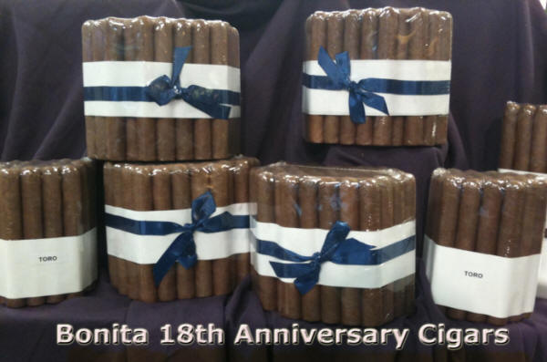 Bonita's 18th Anniversary Blend – Cigar Review