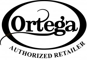 ortega authorized retailer logo