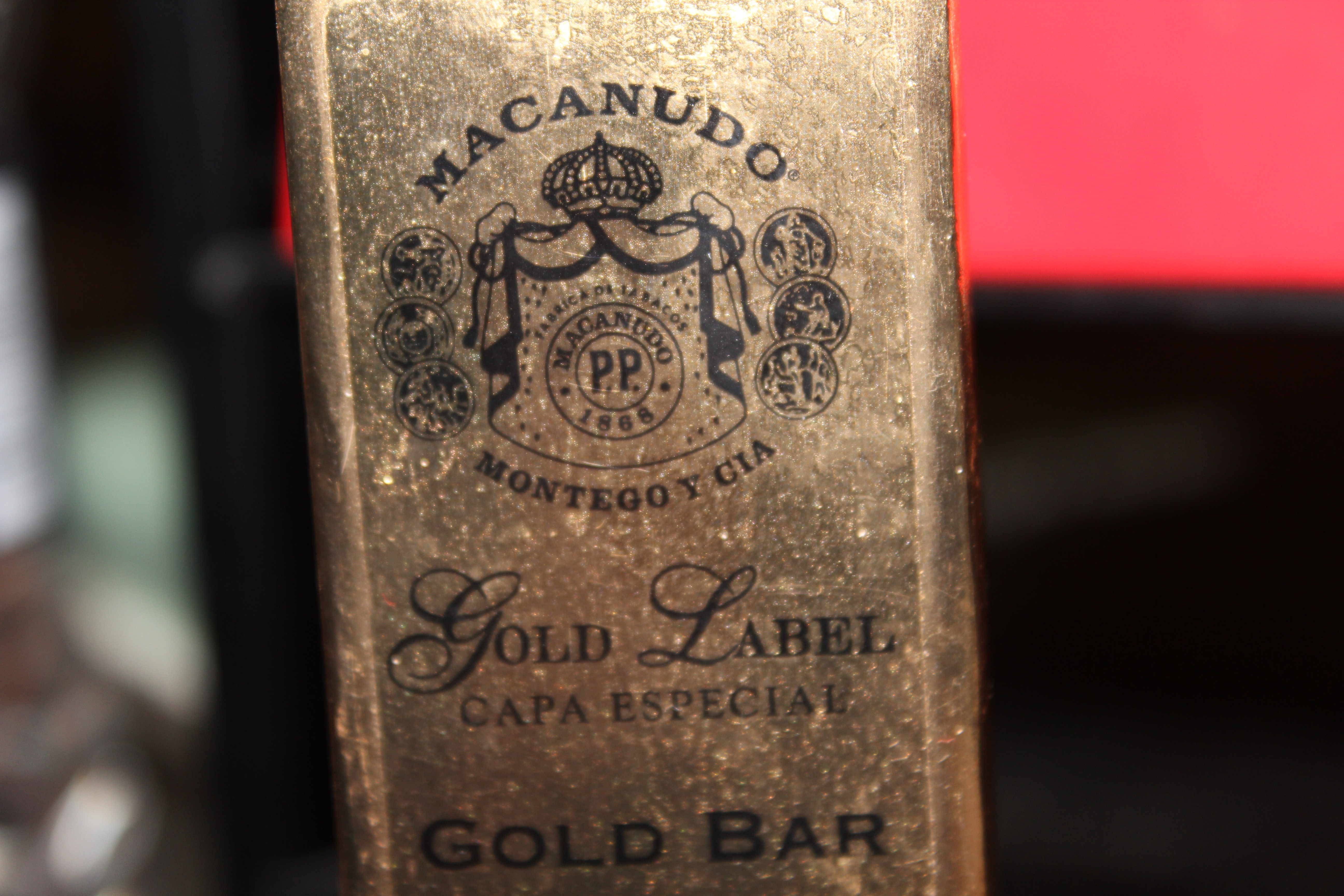 Macanudo Gold Label Gold Bar – Cigar Review