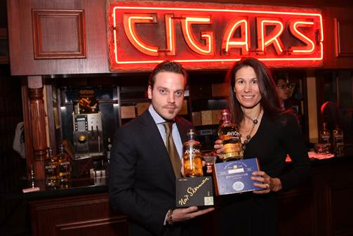 Tequila Avion and Nat Sherman Cigar pairing at the Townhouse