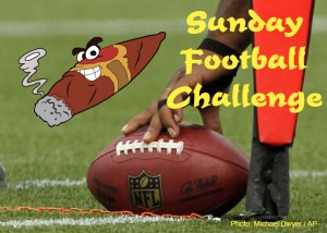 Results: ACS NFL Sunday Challenge October 5, 2014